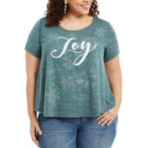 Womens Green Printed Short Sleeve 1061